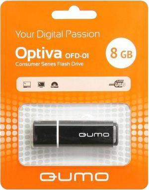 USB-накопитель Qumo Optiva 01 USB 2.0 8GB BlackУдобная флешка Qumo Optiva 01 8GB с интерфейсом USB 2.0 - это не только надежный хранитель информации для тех, кто ценит гарантии и скорость, но и элемент, подчеркивающий вашу индивидуальность в атмосфере серых городских будней. Вся радуга цветов создаст ...<br>