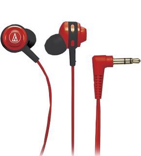 Наушники Audio-Technica ATH-COR150 красныеAudio-Technica ATH-COR150 — компактные внутриканальные «ушки» с акцентом на мощный бас. Модель отлично подойдет меломанам, требовательным к качеству звука, но не готовым постоянно ходить с тяжелыми «мониторами». Это изделие premuim-бренда позволит слушать...<br>