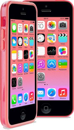 Бампер PURO iPhone Color для iPhone 5C розовый