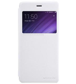Чехол Nillkin Sparkle для Xiaomi Redmi 4 whiteПрактичный чехол защищает смартфон при падениях и ударах. Не секрет, что гаджеты часто роняют. Их ремонты стоят недешево. Позаботьтесь об этом заранее — защитите любимый девайс. В этом стильном чехле ваш мобильный гаджет будет долго выглядеть новым.<br>
