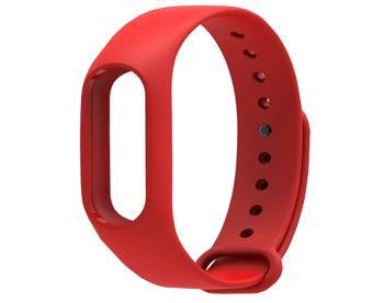 Ремешок для Xiaomi Mi Band 2 красныйКрасивый, стильный, практичный браслет-ремешок для смарт-часов Xiaomi Mi Band 2.<br>