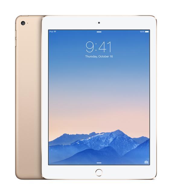 Apple iPad Air 2 128 GbУспешный планшет стал ещё привлекательней и мощнее! Apple iPad Air 2 на новом процессоре Apple A8 резко прибавил в производительности, став одновременно легче и тоньше. Всё это кажется волшебством, ну а цена – 100% оправданной. Планшет обзавелся быстрым с...<br><br>Цвет: Черный