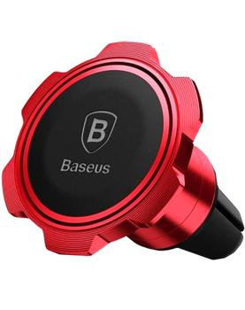 Автодержатель Baseus Gyro Magnet Air Vent Car Mount Red