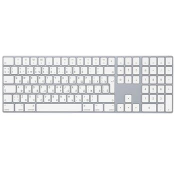 Apple Magic Keyboard with Numeric Keypad White<br>