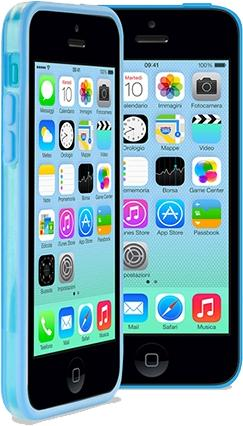 Бампер PURO iPhone Color для iPhone 5C синий