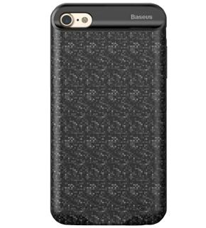 Чехол-аккумулятор Baseus Plaid Backpack для iPhone 7 (2500mAh) черный