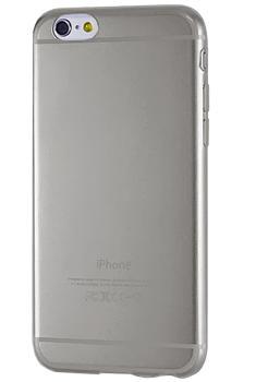Чехол для iPhone 6 Plus силиконовый серыйПрактичный чехол защищает iPhone при падениях и ударах. Не секрет, что гаджеты часто роняют. Их ремонты стоят недешево. Позаботьтесь об этом заранее — защитите любимый девайс. В этом стильном чехле ваш мобильный гаджет будет долго выглядеть новым.<br>