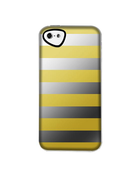 Накладка силиконовая для iPhone 5C Itskins Killer Chic Yellow StripeК вопросу выбора аксессуаров для мобильной техники Apple следует подходить с осторожностью. Защищать изумительные iPhone должны лишь самые лучшие из чехлов, имеющиеся на рынке. Накладка компании Itskins   с её ярким слоганом  Будь уникальным  – вполне зас...<br>