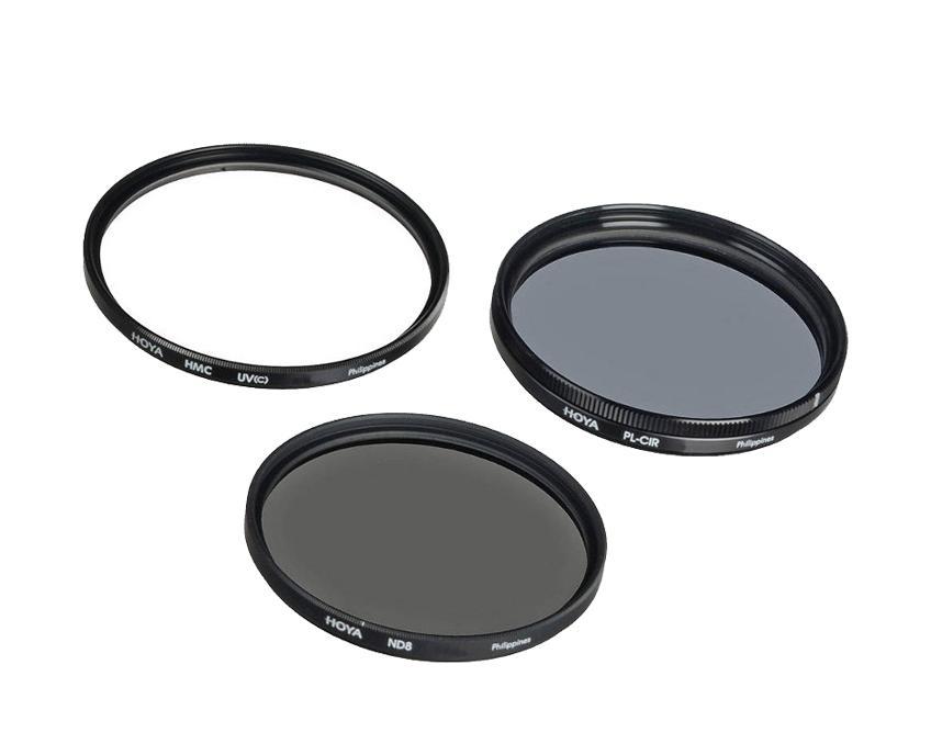 Светофильтр HOYA 55.0MM комплект DIGITAL FILTER KIT: UV (C) HMC MULTI, PL-CIR, NDX8