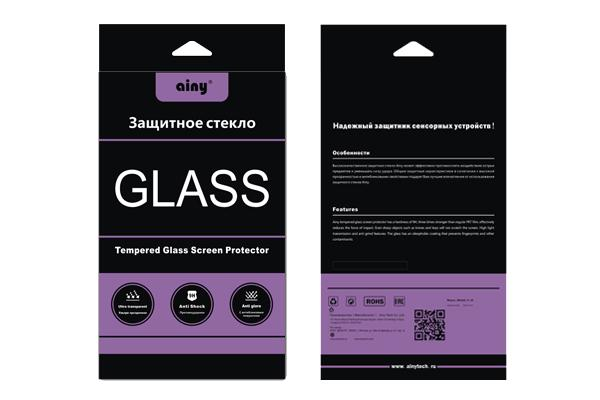 Стекло защитное для iPhone 5/5S/5C Ainy 0,33ммВысококачественное защитное стекло оберегает сенсорный дисплей от царапин и механических повреждений. Прозрачный тонкий аксессуар легко устанавливается и прочно держится на экране. Стекло-протектор не ухудшает эргономику гаджета, не искажает изображение, ...<br>