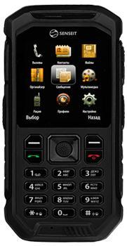 SENSEIT P300 черныйSENSEIT P300 — надежный телефон-рация для туристов и экстиремалов. Модель оснастили PMR-paциeй УKB, необходимой для связи за пределами досягаемости обычных сотовых операторов. Этот 2-симочный аппарат может похвастать защищенностью по стандарту IP67. Аккум...<br>