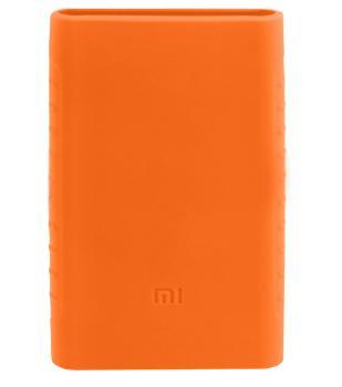 Оригинальный силиконовый чехол для Xiaomi Power bank 2 10000 mAh (оранжевый)Практичный чехол защищает Power bank от потертостей и царапин. В этом стильном чехле ваш мобильный аккумулятор будет долго выглядеть новым.<br>
