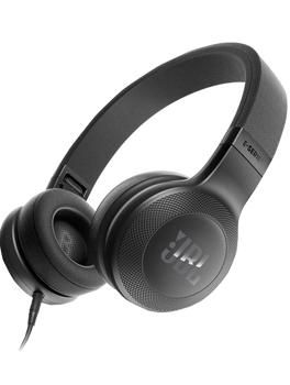 Наушники JBL E35 черныеНаушники JBL E35 — легендарное качество звука от компании с мировым именем. Инновационная конструкция оголовья позволяет подолгу слушать любимую музыку без чувства усталости. Этому очень способствуют тканевая отделка чашек, легкость и эргономичный дизайн...<br>