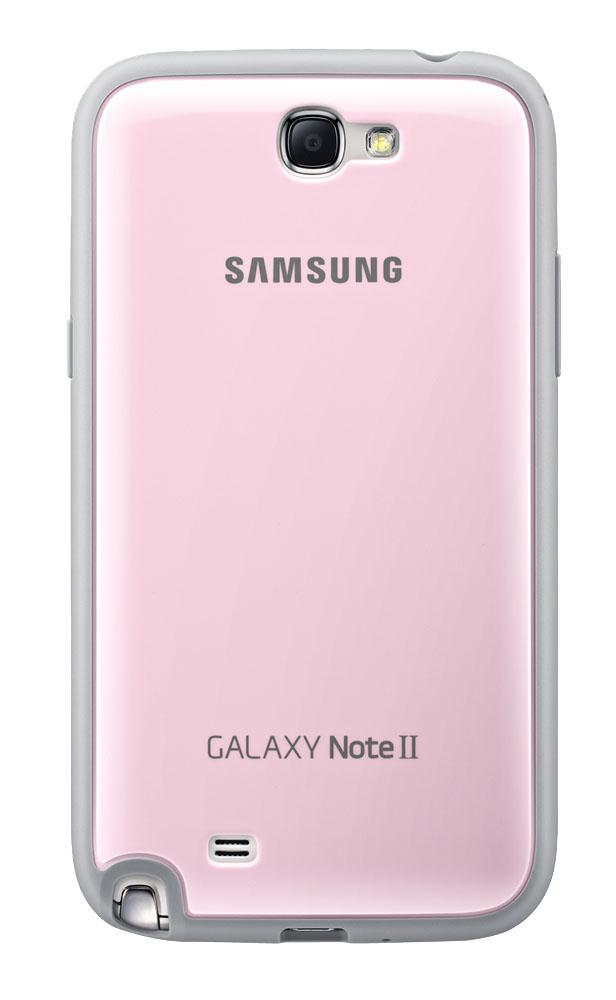 Чехол для Galaxy Note 2 защитный розовыйНесмотря на миниатюрные размеры, оригинальный чехол от Samsung станет серьезной защитой для вашего Galaxy Note 2. Продуманная конструкция защищает гаджет со всех сторон: твердый каркас из прорезиненного пластика легко надевается и надежно удерживает тел...<br>