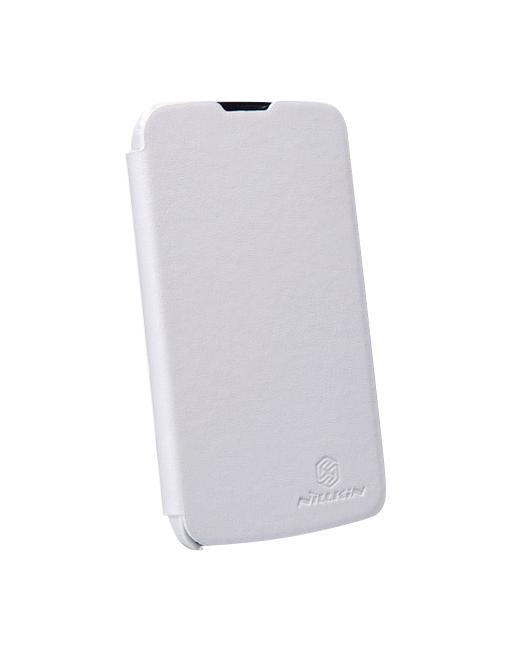 Чехол Nillkin Super Frosted Shield для LG Nexus 4, белыйВысококачественный чехол от компании Nillkin подкупает своей элегантностью, приятным покрытием типа soft-touch и безупречной фиксацией на смартфоне. В настолько удачном аксессуаре, как Super Frosted Shield, Ваш чёткий Android-смартфон надолго останется но...<br>