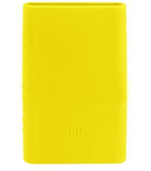 Оригинальный силиконовый чехол для Xiaomi Power bank 2 10000 mAh (желтый)Практичный чехол защищает Power bank от потертостей и царапин. В этом стильном чехле ваш мобильный аккумулятор будет долго выглядеть новым.<br>