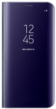 Чехол для Samsung Galaxy Note 8 Clear View Standing Cover violetПрактичный чехол защищает смартфон при падениях и ударах. Не секрет, что гаджеты часто роняют. Их ремонты стоят недешево. Позаботьтесь об этом заранее — защитите любимый девайс. В этом стильном чехле ваш мобильный гаджет будет долго выглядеть новым.<br>