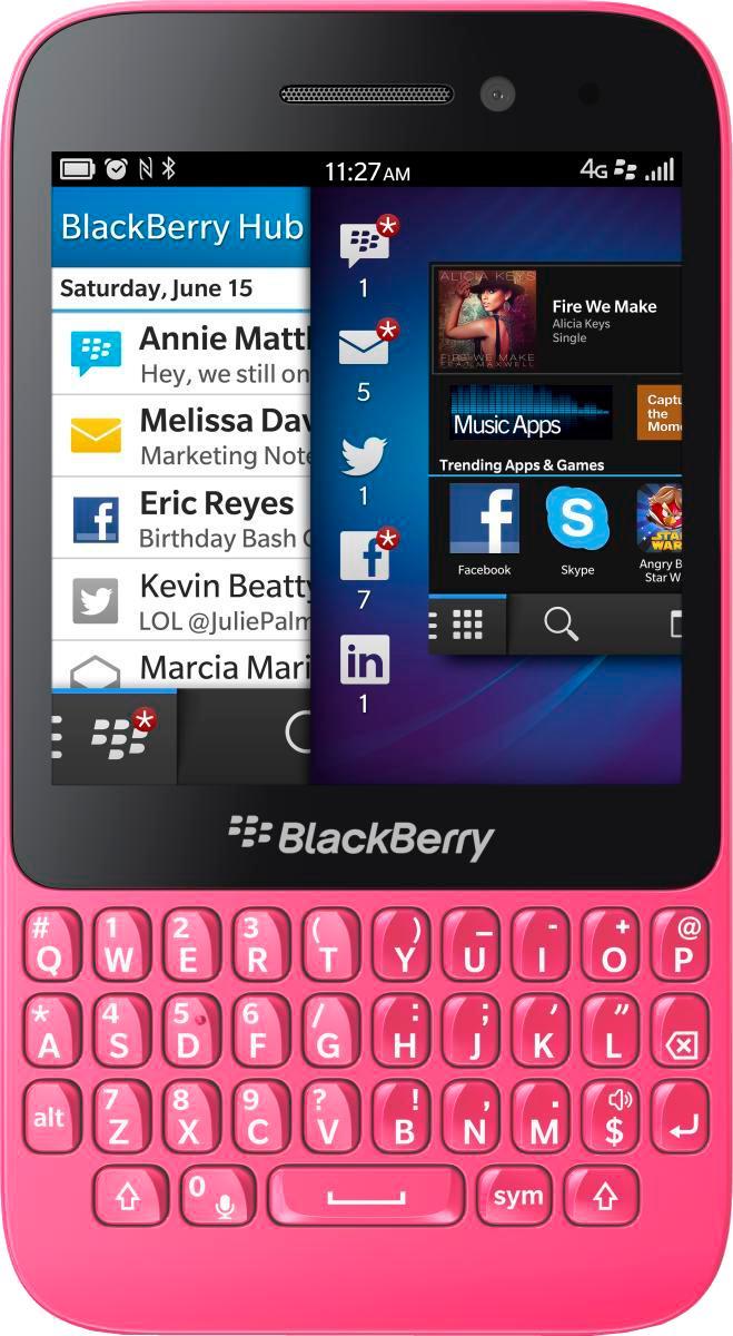 BlackBerry Q5 4G (100-2) PinkЛегендарный стиль BlackBerry в сочетании с новейшей ОС BlackBerry 10, удобной физической клавиатурой и выносливым аккумулятором соединились в классическом и функциональном Q5. У него достаточно мощности для решения самых сложных бизнес-задач, работы в про...<br>