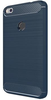 Чехол противоударный для Xiaomi Redmi 4X темно-синий