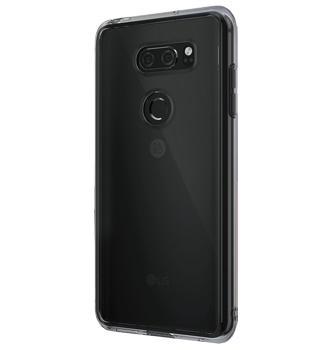 Чехол для LG V30 Ringke Fusion Smoke BlackПрактичный чехол защищает смартфон при падениях и ударах. Не секрет, что гаджеты часто роняют. Их ремонты стоят недешево. Позаботьтесь об этом заранее — защитите любимый девайс. В этом стильном чехле ваш мобильный гаджет будет долго выглядеть новым.<br>