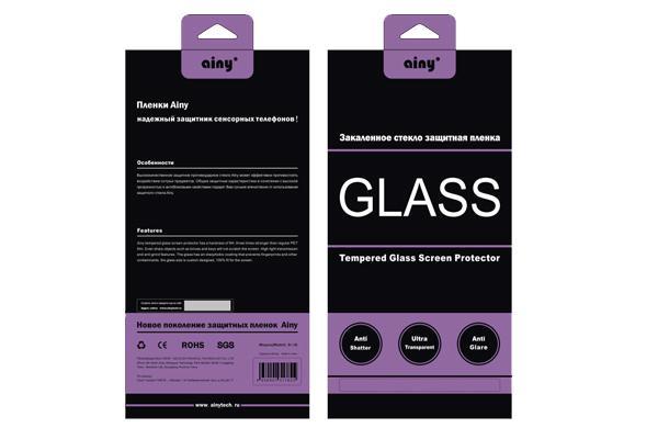 Стекло защитное для iPhone 5/5S/5C Ainy crystal /diamond 0,33ммВысококачественное защитное стекло оберегает сенсорный дисплей от царапин и механических повреждений. Прозрачный тонкий аксессуар легко устанавливается и прочно держится на экране. Стекло-протектор не ухудшает эргономику гаджета, не искажает изображение, ...<br>