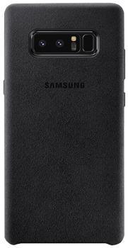 Чехол для Samsung Galaxy Note 8 Alcantara Cover blackПрактичный чехол защищает смартфон при падениях и ударах. Не секрет, что гаджеты часто роняют. Их ремонты стоят недешево. Позаботьтесь об этом заранее — защитите любимый девайс. В этом стильном чехле ваш мобильный гаджет будет долго выглядеть новым.<br>