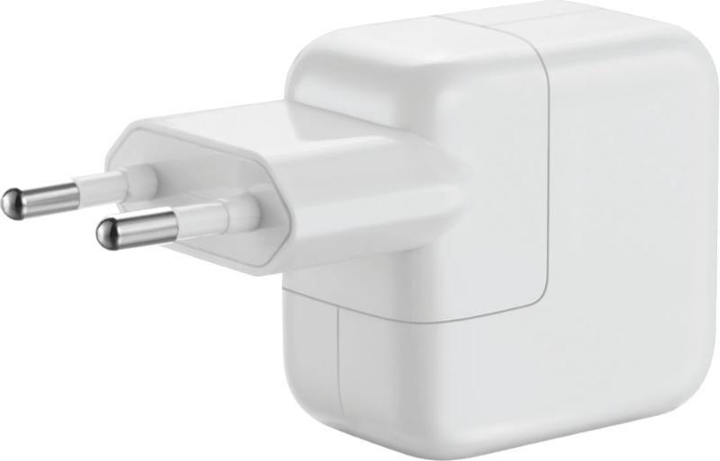 Сетевой адаптер для iPad/iPhone/iPod APPLE USB Power Adapter 2,4A 12W, MD836