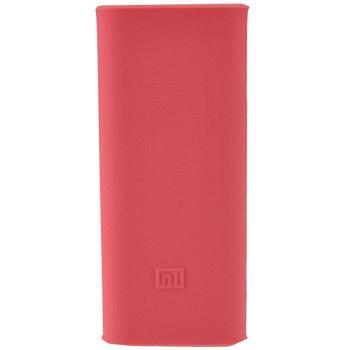 Оригинальный силиконовый чехол для Xiaomi Power bank 16000 mAh (розовый)Практичный, стильный, недорогой чехол защищает ваш Power bank от царапин и повреждений.<br>