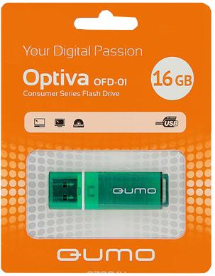 USB-накопитель Qumo Optiva 01 USB 2.0 16GB 16 Gb