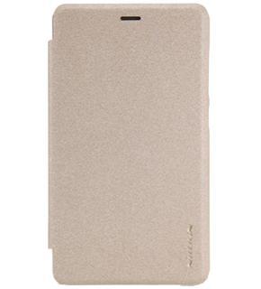 Чехол Nillkin Sparkle для Xiaomi Redmi 3s goldПрактичный чехол защищает девайс при падениях и ударах. Не секрет, что гаджеты часто роняют. Их ремонты стоят недешево. Позаботьтесь об этом заранее — защитите любимый девайс. В этом стильном чехле ваш мобильный гаджет будет долго выглядеть новым.<br>