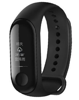 Умный браслет Xiaomi Mi Band 3 Black