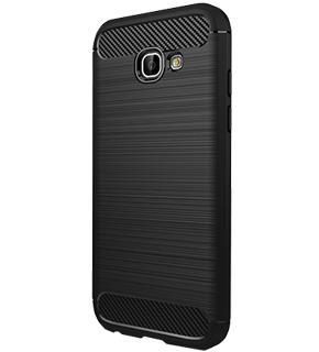 Чехол противоударный для Samsung Galaxy A7 (2017) черныйПрактичный чехол защищает девайс при падениях и ударах. Не секрет, что гаджеты часто роняют. Их ремонты стоят недешево. Позаботьтесь об этом заранее — защитите любимый девайс. В этом стильном чехле ваш мобильный гаджет будет долго выглядеть новым.<br>