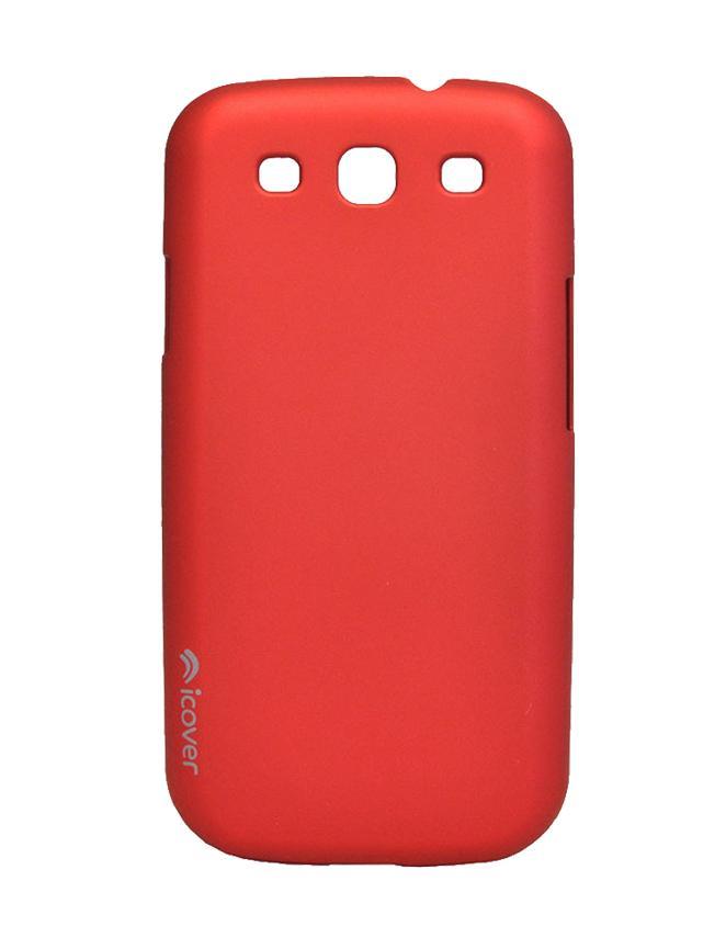Чехол для Galaxy S III iCover Rubber redТонкая, яркая, модная и очень надежная. На этом достоинства iCover Glossy точно не заканчиваются. Панель идеально повторяет формы элегантного Galaxy S3 и не загораживает доступ к элементам управления. Корпус, толщиной всего несколько миллиметров, отличн...<br>