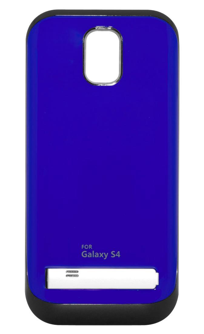 Чехол-аккумулятор для Galaxy S IV /3200mAh/синийХотите заряжать телефон в несколько раз реже? Дополнительный аккумулятор Power Bank решит эту проблему. Запасная батарея встроена в стильный чехол, надев который вы можете использовать телефон без боязни, что он разрядится. То есть вам доступно еще больше...<br>