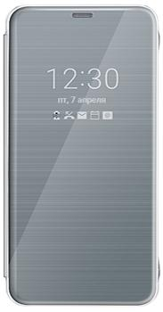 Чехол для LG G6 H870 FlipCover платиновыйПремиальный чехол обеспечивает быстрый доступ к основным функциям смартфона без открытия крышки.<br>