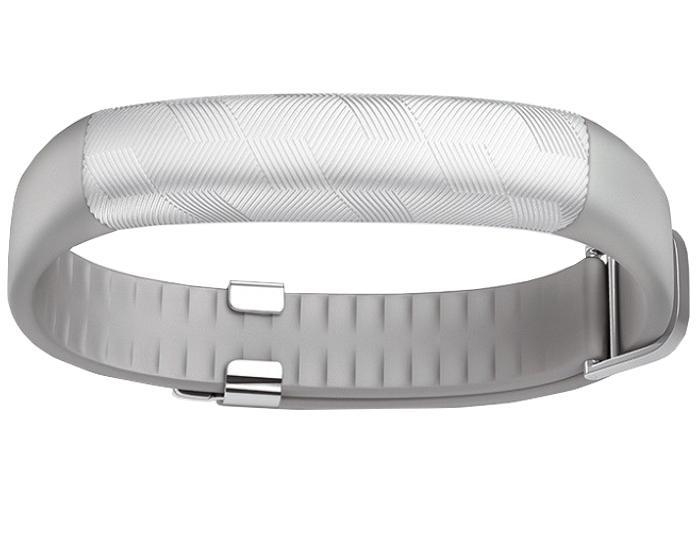 Фитнес-браслет Jawbone Up2 Светло-серыйФункциональный, изящный, доступный. Таким получился новейший браслет от известного бренда, который может реально улучшить качество жизни. Новинка почти в 1,5 раза компактнее своей предшественницы - модели Up24. Гаджет четко отслеживает периоды сна и физич...<br>