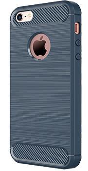 Чехол противоударный для iPhone 5/5S/SE темно-синийПротивоударный чехол защищает iPhone при падениях и ударах. Не секрет, что гаджеты часто роняют. Их ремонты стоят недешево. Позаботьтесь об этом заранее — защитите любимый девайс. В этом стильном чехле ваш мобильный гаджет будет долго выглядеть новым.<br>