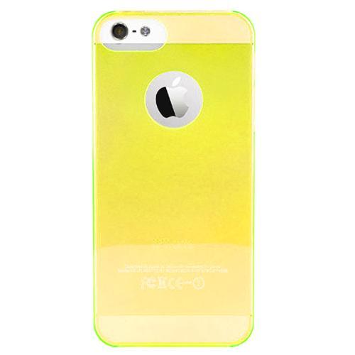 Чехол для iPhone 5/5S PURO Crystal Cover желтыйPURO Crystal Cover — это тонкая и легкая защита для вашего iPhone 5. Прозрачный чехол-накладка сделан из качественного ударостойкого силикона, который плотно прилегает к хрупким панелям телефона, ничуть не увеличивает гаджет в размерах и отлично защищает ...<br>