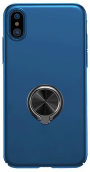 Чехол для iphone X Baseus Ring Case Dark BlueПрактичный чехол защищает iPhone при падениях и ударах. Не секрет, что гаджеты часто роняют. Их ремонты стоят недешево. Позаботьтесь об этом заранее — защитите любимый смартфон. В этом стильном чехле ваш мобильный гаджет будет долго выглядеть новым.<br>