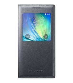 Купить со скидкой Чехол-книжка Samsung для Galaxy A5 S-View Cover черный