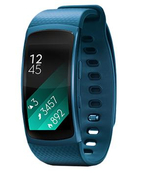 Samsung Galaxy Gear Fit 2 R360 Blue (размер L)