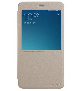 Чехол Nillkin Sparkle для Xiaomi Redmi Note 4 goldПрактичный чехол защищает девайс при падениях и ударах. Не секрет, что гаджеты часто роняют. Их ремонты стоят недешево. Позаботьтесь об этом заранее — защитите любимый девайс. В этом стильном чехле ваш мобильный гаджет будет долго выглядеть новым.<br>