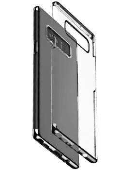 Чехол Baseus Glitter Case для Samsung Galaxy Note 8 BlackПрактичный чехол защищает смартфон при падениях и ударах. Не секрет, что гаджеты часто роняют. Их ремонты стоят недешево. Позаботьтесь об этом заранее — защитите любимый девайс. В этом стильном чехле ваш мобильный гаджет будет долго выглядеть новым.<br>