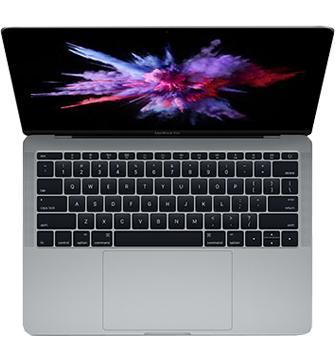 Ноутбук Apple MacBook Pro 13 MPXU2 Space GreyApple MacBook Pro 13 (MPXU2) — легкий и тонкий, но очень мощный лэптоп для решения профессиональных задач. Здесь ярко воплощены передовые IT-идеи. Дисплей ноутбука отличается кристальной четкостью и точной передачей цветов. Большой сенсорный трекпад, чувс...<br>