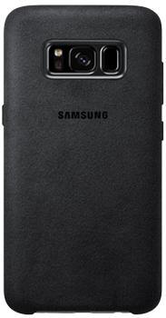 Чехол для Samsung Galaxy S8 Plus Alcantara Cover dark greyПрактичный чехол защищает девайс при падениях и ударах. Не секрет, что гаджеты часто роняют. Их ремонты стоят недешево. Позаботьтесь об этом заранее — защитите любимый девайс. В этом стильном чехле ваш мобильный гаджет будет долго выглядеть новым.<br>