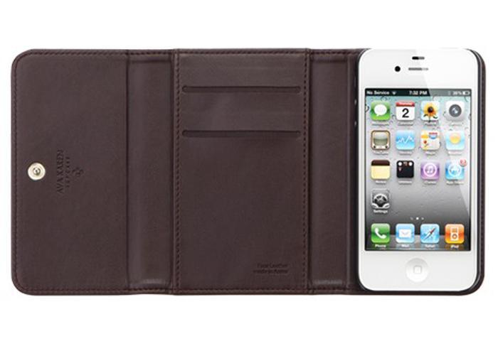 Чехол для iPhone 4/4S SGP Ava Karen Leather Case BrownSGP Ava Karen Leather Case – это представительный стильный чехол для iPhone 4/4S, который отличается своей повышенной функциональностью и деловым строгим видом. Благодаря высококачественной искусственной коже, из которой сделан чехол, ваш смартфон будет н...<br>