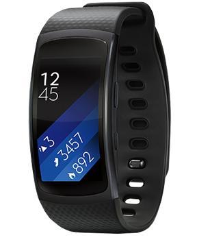 Samsung Galaxy Gear Fit 2 R360 Black (размер L)