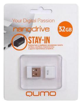 USB-накопитель Qumo Nano USB 2.0 32GB White
