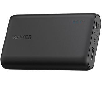 Внешний аккумулятор универсальный Anker PowerCore 10000 (A1263H11) mAh BlackУниверсальный аккумулятор Anker PowerCore спасает ваши гаджеты на протяжении всего дня. С этим  аксессуаром энергия не закончится в самый неподходящий момент. Поддержите любимый смартфон, планшет, иную портативную технику. Избавьтесь от неприятностей, свя...<br>
