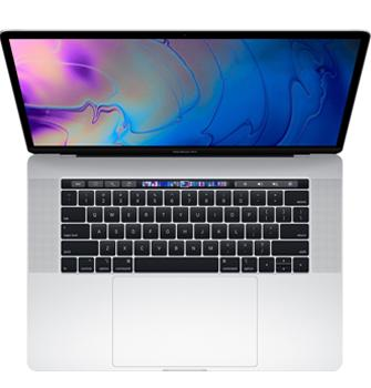 Ноутбук Apple MacBook Pro 15 (2018) MR972 Silver